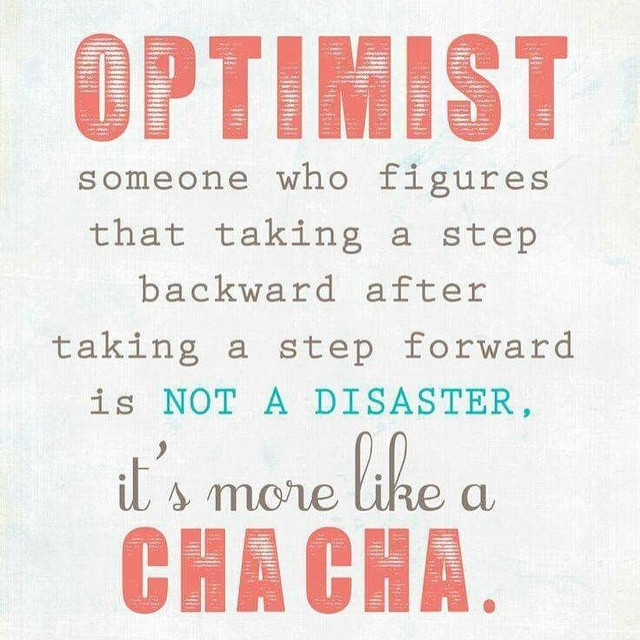 MORNING MOTIVATION: Remember that growth is not always linear. Progress doesn't necessarily demand that you have a straight ascent toward perfection. Sometimes a leap forward is followed by a few steps back, sometimes we hit a peak and then fall into a valley. If you find yourself doing the cha cha towards your health and fitness goals, don't beat yourself up! Just keep cha cha'ing along and you'll get there.  #fit #fitfam #fitspo #fatloss #fitbody #fitness #fittips #fitchick #fitforce #fitmommy #fitjourney #fitnessgoals #fitsporation #fitnessquotes #fitnessjourney #fitnesslifestyle #fitnessmotivation #motivation #weightloss #weightlossjourney