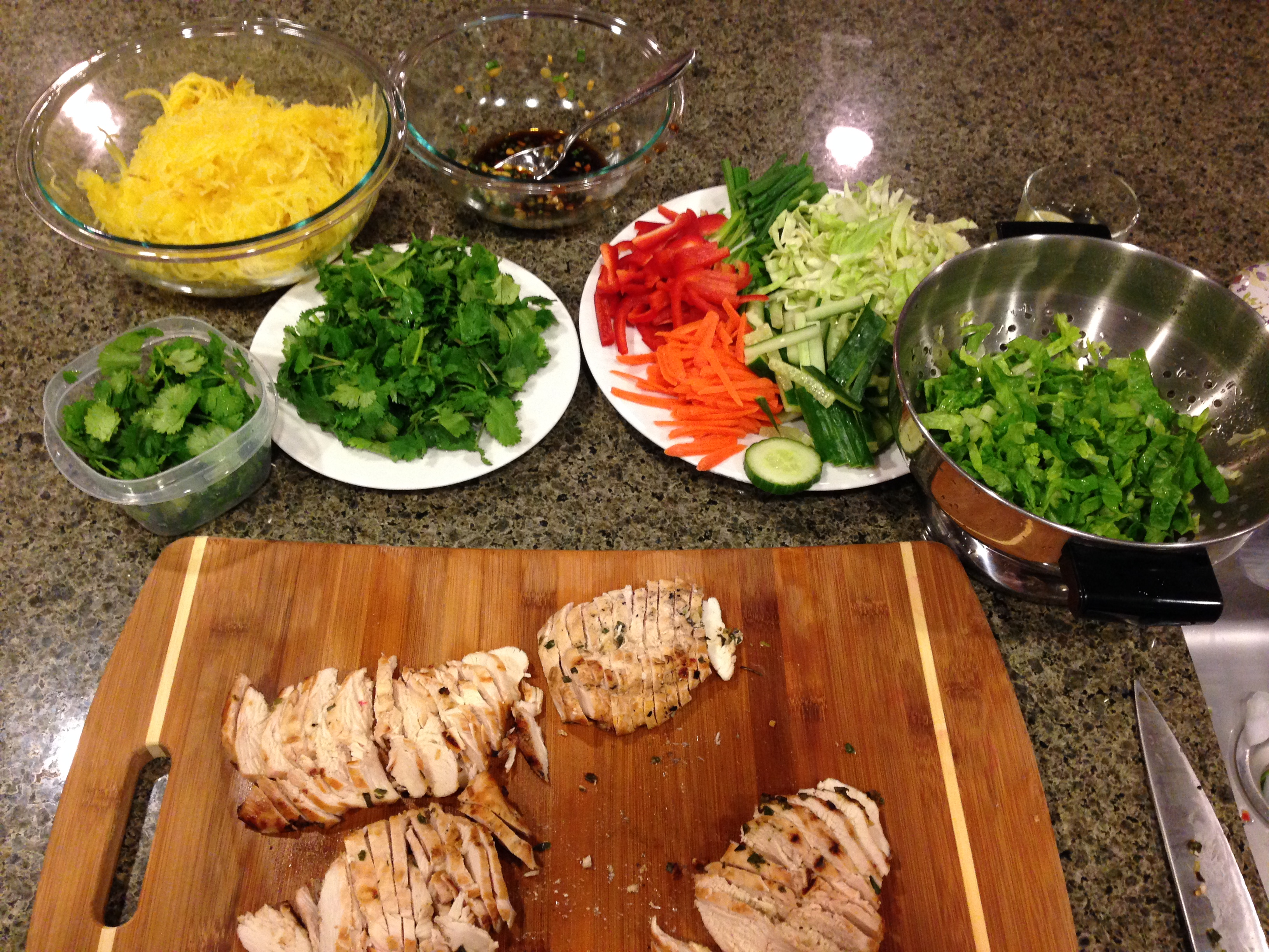 Vietnamese Comfort Food >> Comfort Food Made Healthy Vietnamese Vermicelli Bowl Aka Bun