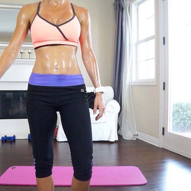 Have you tried FitForceFX Full Body Shred yet? It will turn you into a sweaty calorie burning, muscle building machine in just 16 minutes. My husband likes to pull funny stills from my workouts and this sweaty gem is from the end of that workout, as I was about to turn the camera off. This workout had me dripping with sweat! Try it and let me know how you like it!  Link below, or you can find this workout and other free workouts, health tips, and recipies on my FB page, YouTube Channel, and website (link in bio). Happy sweating! Have a beautiful day, everyone!  https://www.youtube.com/channel/UC9wkhjMDu9rwOhjoMnOalnQ/  #fit #fitfam #fitspo #fatloss #fitbody #fitness #fittips #fitchick #fitnessgoals #fitnessjourney #fitnesslifestyle #workout #weightloss #weightlossjourney #workoutoftheday #hiit