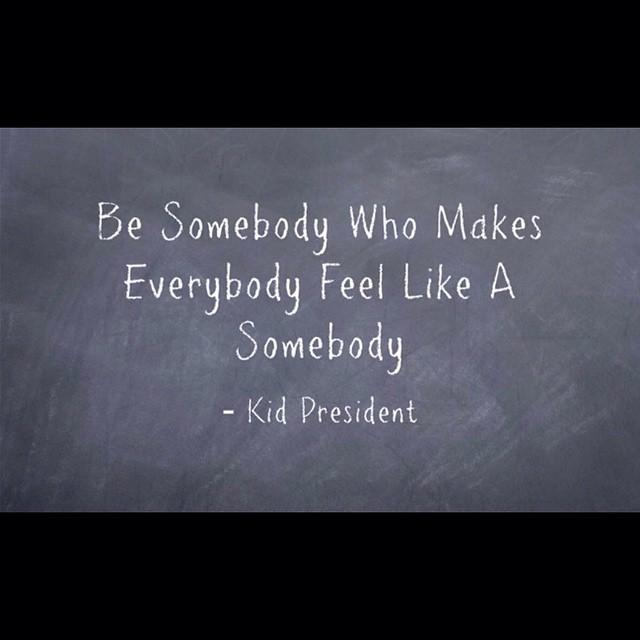 Be someBUNNY who makes everyBUNNY feel like a someBUNNY.