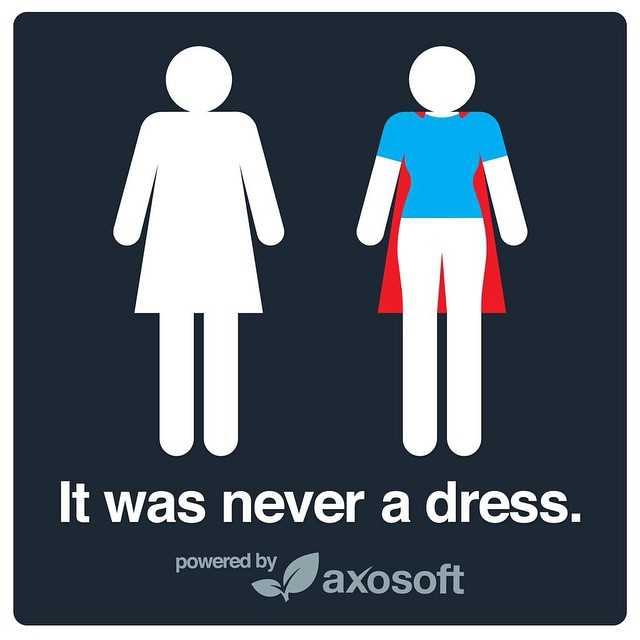 This is all kinds of awesome. Way to go @axosoft #itwasneveradress #girlpower #likeagirl #fit #fitgirl #girlswholift #girlswithmuscle #fitfam #fitspo #fitgirl #fitmommy #fitnessgoals #fitnessjourney #bodyafterbaby #weightlossjourney #healthylifestyle #yoga #yogalove #yogaisforeveryone
