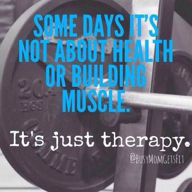 Working out is not only about loosing fat, building muscle, and being physically fit. It's also my mind's