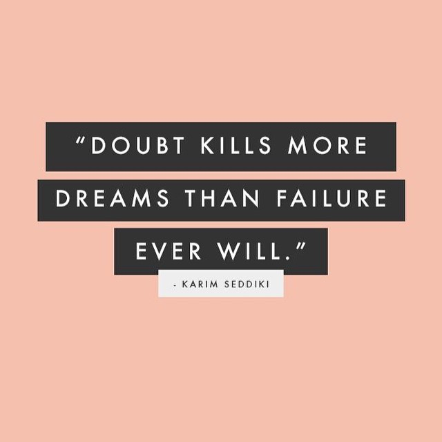 Don't doubt your dreams, doubt your fears.  #fit #fitfam #fitspo #fatloss #fitgirl #fitness #fitchick #FitForce #fitmamma #fitmommy #fitjourney #fitnessgoals #fitnessquotes #fitnessjourney #fitnesslifestyle #fitnessmotivation #workout #weightloss #weightlossjourney #happy #hiit #healthy #healthylifestyle #hiit #dreams #burningcalories #bodyafterbaby
