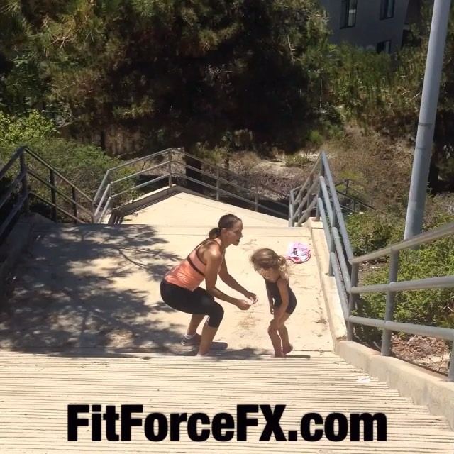 Had to cut my workout short to pick up the younger one from camp yesterday, so we got a little stair finisher in afterwards. Got to get creative to fit it in when you can! This little munchkin makes sure I squat low enough! Try these with or without a partner. #stairs are #fun! Special credit to my 8 year old videographer! 🌟 Full free workouts , health & fitness tips & healthy recipes on YouTube and Facebook (link in bio). 💪💦 duds: 👚@kyodanactivewear 👖@rbxactive #fit #fitfam #fitspo #fatburn #fatloss #fitgirl #fitlife #fitchick #fitmommy #fitjourney #fitmamma #fitnessgoals #freeworkouts #fitnesslifestyle #kisses #workoutvideo #bikiniready #bodyafterbaby #bodyweightexercises #burningcalories