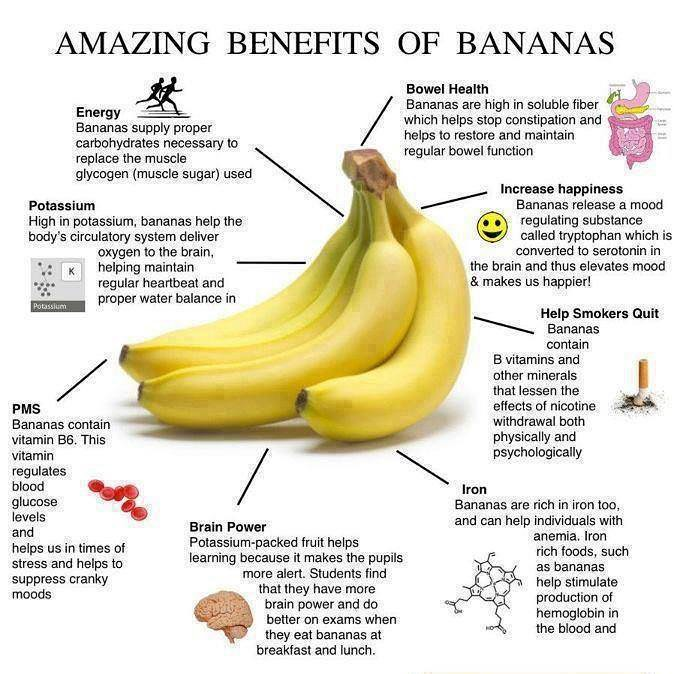 The many amazing benefits of bananas (aka Nature's Dessert). If you haven't already seen the healthy banana recipes I recently posted, you can check them out on my FB page (link in bio), or on my website (FitForceFX.com) under the