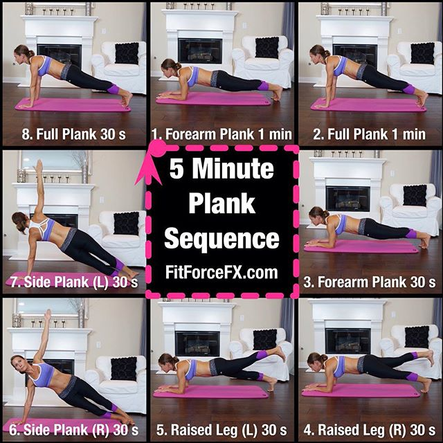 Have you tried my 5 minute plank sequence? It's a great way to define your abs and build strength. Try doing it as a finisher to your workouts. Have fun!  Full size image can be found on my website and FB page (link in bio). 💪 #fit #fitfam #fitspo #fitgirl #fitness #plank #planking #plankchallenge #fitmamma #fitmommy #fitforcefx #fitjourney #fitnessgoals #freeworkouts #yogalove #yoga #workout #weightloss #abs #weightlossjourney #bodyafterbaby #bodyweightexercises #strength #strongereveryday #bikiniready