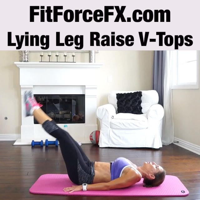 "MOVE OF THE WEEK: Target those hard-to-define lower abs with the Lying Leg Raise V-tops exercise.  This move, combined with a proper diet will give you an awesome v-cut in your lower abs.  Technique:  1) Lie flat on your back with your legs extended in front of you. 2) Place your hands either by your sides or under your glutes with your palms down. This is your starting position. 3) As you keep your legs extended, straight as possible, slowly raise your legs until they make a 90-degree angle with the floor. 4) Raise your bottom off the ground with your legs straight up and as you do so separate your legs to make a ""V"" at the top. Hold the contraction at the top for a second. 5) Inhale as you slowly lower your bottom and then your legs back down to the starting position on the floor. That's one rep.  Do 3 sets of 15 reps.  Follow me on YouTube and Facebook for free workouts, fitness & health tips, and healthy recipes. Link in bio.  #fit #fitfam #fitspo #fatburn #fatloss #fitgirl #fitlife #fitchick #fitmamma #fitmommy #fitjourney #fitnessgoals #fitnessjourney #fitnessmotivation #videooftheday #abs #sixpack #bodyafterbaby #bikini #bikiniready #workout #homeworkout"