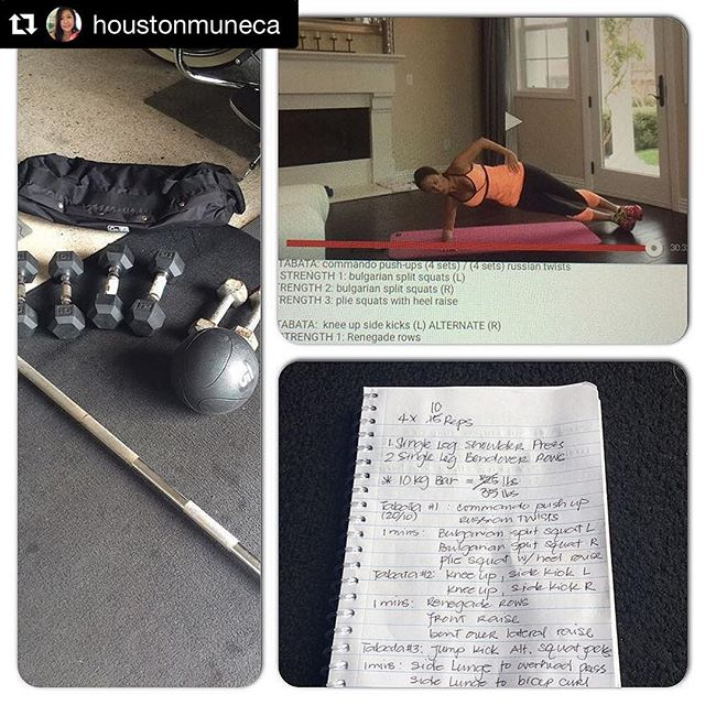 Loving this workout check-in! This girl is having fun with her fitness and is hardcore! She is clearly on a mission - dedicated and consistent. Killing it! Way to go! 💪🌟 Repost @houstonmuneca with @repostapp. ・・・ #nevermissamondayworkout FullBody/cardio @fitforcefx, plus Day1 of 30 Day Arm Challenge and finisher today was 4x 10 reps ✅ single leg shoulder press ✅ single leg bend over rows (35 lbs) #fit #fitness #gymboss #goal #Tabata #cardio #determination #shoulder #strongeveryday #strongnotskinny #strongisthenewbeautiful #fit #fitfam #fitspo #fatloss #fitmommy #fitjourney #fitnessgoals #fitnessjourney #freeworkouts #workout #weightloss #hiit #Tabata #strength #bikiniready