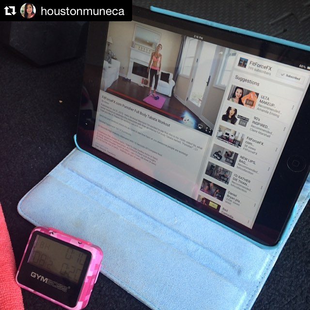 Another awesome workout check-in by @houstonmuneca 💦💪 You guys, this girl is hardcore dedicated to her fitness. She is consistent and gives it her all. You are on fire @houstonmuneca 🌟🌟🌟🔥🔥🔥 Way to go! Repost @houstonmuneca ・・・ I wanted to join the celebration of milestone with @fitforcefx today as my #weekendwarrior workout👊💦👊💦 plus leg day, and my finisher by @sarah_bowmar Bicep Workout pyramid (10 on each arm, 9 on each arm, all the way down to 0) #fit #stronger #strongeveryday #strongnotskinny #girlswholift #strongisthenewbeautiful #determination #gymboss #goal #Tabata  #cardio