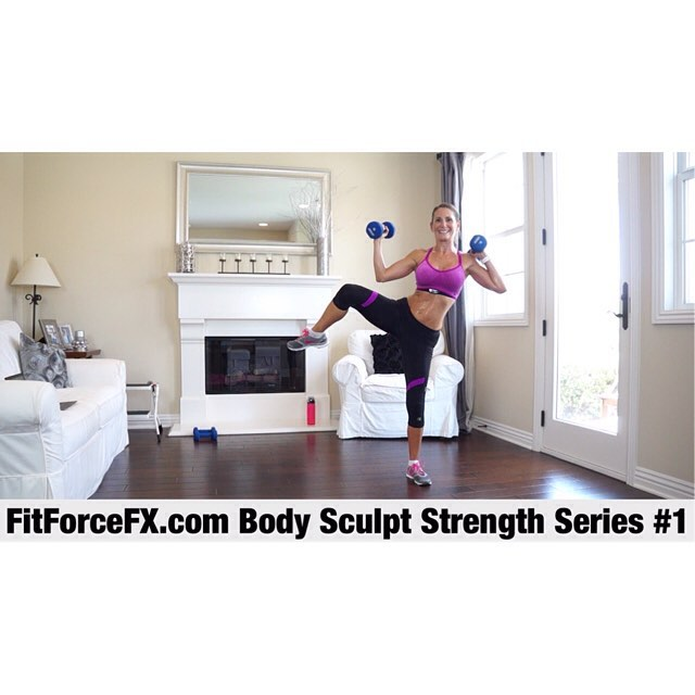 I'm excited to announce that my new Body Sculpt strength series has started! The first workout is now live on the FitForceFX YouTube channel and Facebook page (link in bio)! This series will tighten and sculpt your body with lean muscle. All of the workouts in this series will be strength workouts and are designed to help you build functional strength, as well as strengthen and tone your ENTIRE body.  Strength training is so important to incorporate into your workout schedule. It not only assists in weight loss and gives nice muscular definition, but it also improves balance, strength, and body mechanics; stops, prevents, and even reverses bone and muscle loss; boosts energy levels and improves mood; and boosts your metabolism, allowing you to burn more calories at rest! Be sure to subscribe to the YouTube channel and Facebook page so you don't miss a workout! I am so excited to get started with you guys on this series. If you are also looking for cardio and muscle toning, check out my Lean Body Series. You can combine workouts from these two series throughout the week, for an awesomely effective well-rounded efficient workout plan!  Train. Nourish. Transform.  FitForceFX.com Workouts, fitness & health tips, motivation & healthy recipes.  Website: https://www.FitForceFX.com YouTube: http://bit.ly/1LJYQzH Facebook: https://www.facebook.com/FitForceFX Pinterest: https://www.pinterest.com/fitforcefx/  #fit #fitfam #fitspo #fatburn #fatloss #fitgirl #fitness #fitmamma #fitmommy #fitforcefx #fitnessjourney #fitjourney #fitnessgoals #fitnessaddict #workout #weightloss #workoutvideo #weightlossjourney #bikiniready #bodyafterbaby #weighttraining #strength #motivation #girlswithmuscle #bodysculpt #abs