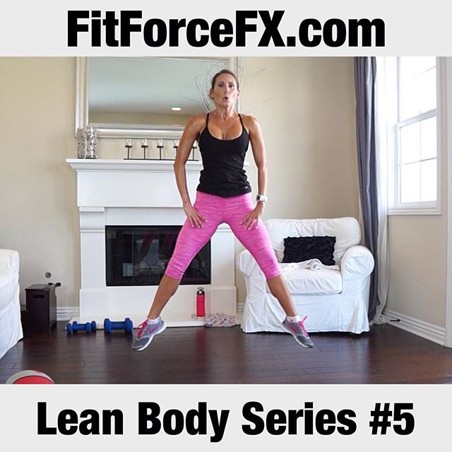 The next workout in the Lean Body Series is now up on the FitForceFX YouTube channel (link in bio)! One round is 15 minutes of sweaty heart-pumping HIIT goodness. The interval on this one is 40/20 with the 20 being a fun kickboxing combo, so there is no rest built into this one (but please take it as you need it). This is full-on effective efficient fat burning at it's finest. You don't have to work out for a long time with this one but try for 2 rounds and then add on one of my strength workouts from my Body Sculpt Strength Series.  If you are just joining us, the Lean Body Series workouts are designed to burn fat and tone muscle.  This series will challenge your body and help you break through any plateaus. All fitness levels can do this series - just go at your own pace within the timed interval and take modifications, if you need to.  As you progress through the series, let me know how you are doing. I love getting your workout photo check-ins! You can tag me on Instagram or Facebook, or send me an email.  Are you ready?! Let's go! 💪Subscribe for weekly workouts: http://bit.ly/1LJYQzH 💪  Train. Nourish. Transform.  FitForceFX.com Workouts, fitness & health tips, motivation, & healthy recipes.  Website: https://www.FitForceFX.com Facebook: https://www.facebook.com/FitForceFX Pinterest: https://www.pinterest.com/fitforcefx/ YouTube: http://bit.ly/1LJYQzH  Thanks for working out with me! See you at the next workout! ~J  #fit #fitfam #fitspo #fatburn #fatloss #fitgirl #fitness #fitmamma #fitmommy #fitforcefx #fitjourney #fitnessgoals #freeworkouts #fitnessaddict #fitnessjourney #workout #weightloss #workoutvideo #weightlossjourney #cardio #hiit #homegymlife #homeworkout #beastmode #bikiniready #bodyafterbaby #bodyweightexercises