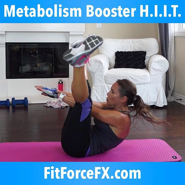 Metabolism booster HIIT is the 12th workout in the Lean Body Series and it's going to light a fire to your metabolism! Like Lean Body Series #11, this is also a killer bodyweight, no excuse workout. You can do this anywhere, with no equipment. All levels can do this, just go at your own max pace. Click the link in my bio to be taken to my YouTube channel, where you can find this workout and over 120 others.  The workouts in the Lean Body Series are for EVERYbody - men and women of all ages and fitness levels. No matter who you are, this series will get you shredded and breaking through plateaus! Are you ready to suck wind and drop sweat?! Repeat 1-3 times or combine with another workout from the Lean Body Series.  Are you ready? Let's absolutely kill this one! Be sure to click a picture of your awesome weaty self at the end of this workout and send it to me! I want to see your sweat equity pics!  Don't forget to check in with me on Facebook, YouTube & Instagram to say