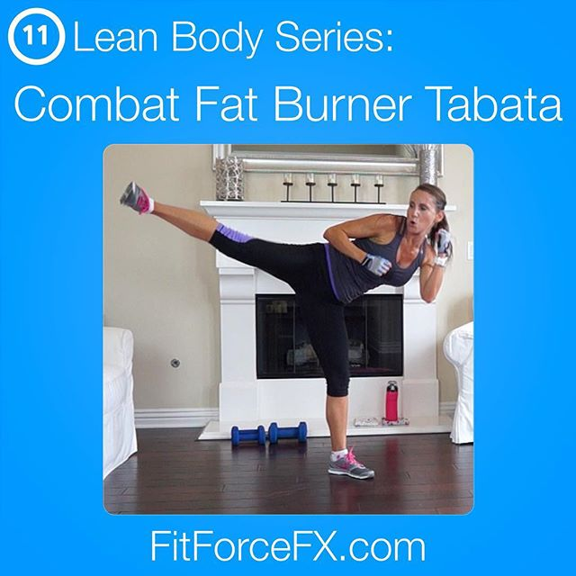 A new Lean Body Series workout is up and it's a hardcore efficient fat blaster! Super fun too! I think it's my new favorite. Combat Fat Burner Tabata is a killer bodyweight, no excuse workout. You can do this anywhere, with no equipment. All levels can do this, just go at your own max pace within the timed interval.  Train. Nourish. Transform.  Free workouts, fitness& health tips, motivation & healthy recipes. Find me on YouTube (link in bio) and Facebook! 💪  #fit #fitfam #fitspo #fatburn #fatloss #fitgirl #fitness #fitmamma #fitmommy #fitforcefx #fitjourney #fitnessgoals #freeworkouts #fitnessaddict #fitnessjourney #workout #weightloss #workoutvideo #weightlossjourney #weightlossmotivation #beastmode #bikinibody #bodyafterbaby #hiit