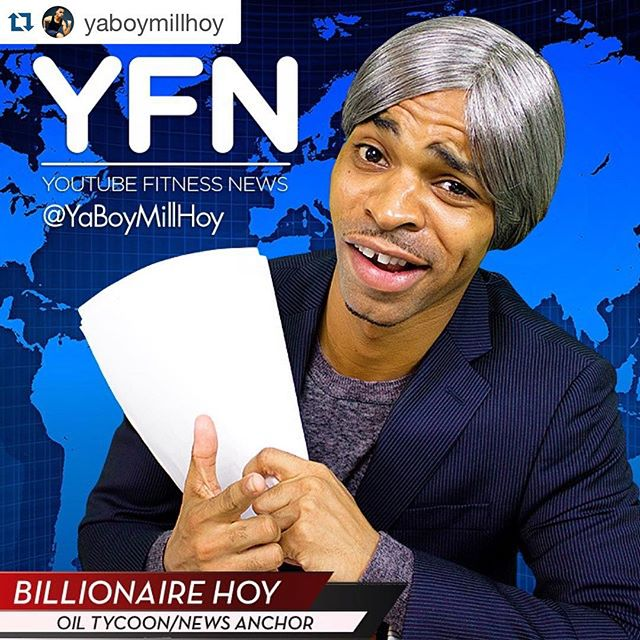 Are you looking for health and fitness news that is both informative and entertaining? Check out @yaboymillhoy 🌟Each week he does a fitness news segment with the top 16 YouTube workouts of the week. I love these weekly segments - they are informative and funny. I especially love him because he summed up my Lean Body Series #6 workout as