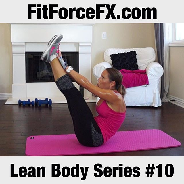 "Happy weekend, everyone! If you're looking for a workout this weekend, Lean Body Series Workout #10 is now up and it's a fat-burning body-shredding good time! For a great full hour workout, do LBS #9, follow with this one (#10) and then end with a workout from the Body Sculpt Strength Series. This is what I did and it was awesome! Don't forget to warm up! You can easily find the workouts in each series under their own playlist (in the ""playlist"" tab) on the FitForceFX channel (link in bio). All levels can do this, just go at your own max pace.  If you are just joining us, the Lean Body Series workouts are designed to burn fat and tone muscle.  This series will challenge your body and help you break through any plateaus. All fitness levels can do this series - just go at your own pace within the timed interval and take modifications, if you need to.  Don't forget to check in with me here on Facebook, and YouTube and tell me how you're doing!  Train. Nourish. Transform.  For free workouts, fitness & health tips, motivation & healthy recipes, find me on YouTube, Facebook, Pinterest and Twitter.  #fit #fitfam #fitspo #fatburn #fatloss #fitgirl #fitness #fitmamma #fitmommy #fitjourney #fitnessgoals #freeworkouts #fitnessaddict #fitnessjourney  #weightloss #workoutvideo #weekendwarrior #weightlossjourney #weightlossmotivation #cardio #hiit #homegymlife #homeworkout #healthylifestyle #beastmode #bikinibody #bodyafterbaby"