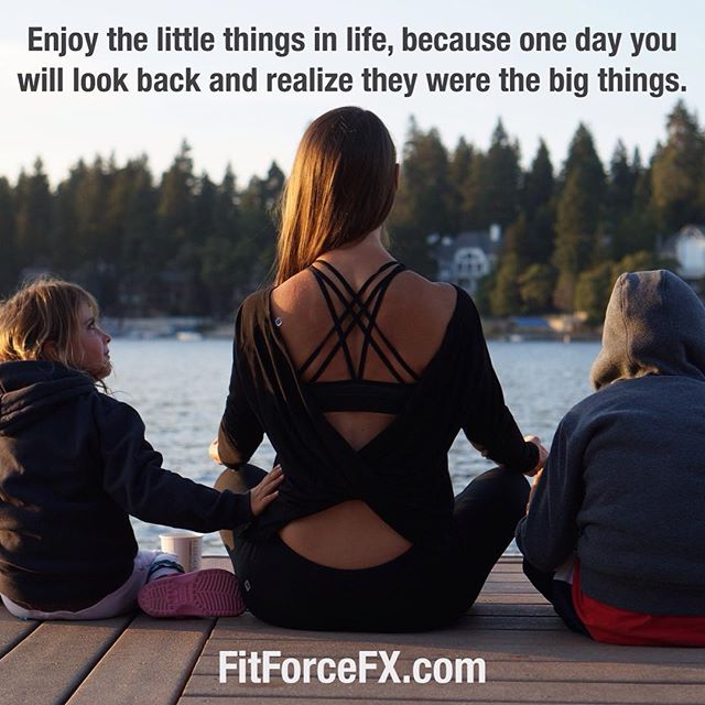 It's the little things that make life wonderful. The little insignificant moments with those you love that matter most. Have a beautiful day, everyone.  Train. Nourish. Transform. FitForceFX 💪 Workouts, fitness & health tips, motivation, & healthy recipes.. 💪  #fit #fitfam #fitspo #fatburn #fatloss #fitgirl #fitness #fitmamma #fitmommy #fitforcefx #fitjourney #family #motivation #quoteoftheday #fitnessgoals #fitnessaddict #freeworkouts #favoritethings #hiit #homegymlife #healthylifestyle #gratitude #bodyafterbaby #yoga #yogalove
