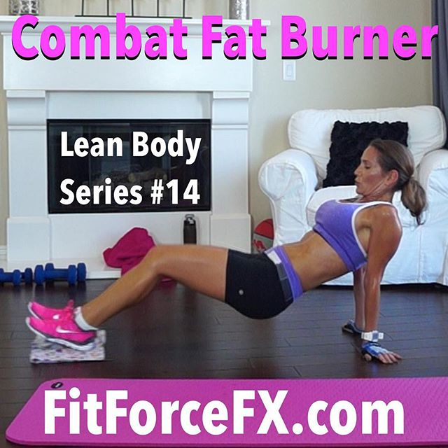 "Combat Fat Burner HIIT is the 14th workout in the Lean Body Series and it's a another full-on calorie burn with a high after-burn effect (link in bio)! It's a super fun one too! There is a kickboxing interval in this workout, which is always a fun way to blast that fat and tone those muscles! We're also doing 40/30 with no rest period (yes that's right 40/30!). All levels can do this, just go at your own max pace and get as many reps in as you can in the allotted interval. Take breaks as you need them. During the kickboxing interval I want you to really focus on feeling each movement and really contract your muscles. Always keep your core tight the entire time AND when you are kicking, also contract your leg. Same thing with punching - contract your arm muscles in BOTH directions. Push out and really PULL your arms and legs back in. You will really amp up your workout that way and get way more bang for your time buck! ;-) Are you ready? Let's decimate this workout and give it our all!  The workouts in the Lean Body Series are for EVERYbody - men and women of all ages and fitness levels. No matter who you are, this series will get you shredded and breaking through plateaus! Repeat 1-3 times or combine with another workout from the Lean Body Series.  Don't forget to check in with me on Facebook and YouTube to say ""hi"" and tell me how you're doing! I love hearing from you guys!  Subscribe to me on YouTube for free workouts and Facebook for fitness & health tips, nutrition, & healthy meal ideas.  Let's be social!  Facebook YouTube (link in bio) Pinterest Website  Train. Nourish. Transform.  Fit Wear: 👚 @marika_clothing 👖@lululemon 👟 @nikewomen #fit #fitfam #fitmom #fitspo #fitbody #fitness #fitnessaddict #fitlife #fitgirl #fitnessmotivation #fitchick #fitnessjourney #fitnessfreak #fitfluential #fitforlife #fitnesslifestyle #fitsporation #fitstagram #workout #weightloss #workoutvideo #weightlossjourney #hiit #cardio #bikinibody #bodyafterbaby"