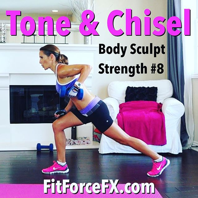 Tone and chisel your body with workout #8 in the Body Sculpt Strength series, now up on my YouTube channel! How are you guys doing with the series? With consistency, the workouts in this series are designed to tighten, sculpt, and tone your ENTIRE body with lean muscle! I hope you guys are starting to see results.  Not only does strength training help you achieve a nice toned aesthetic but it also increases energy, improves mood, and boosts your metabolism, allowing you to burn more calories at rest!  Combine the workouts in this series with my Lean Body Series workouts throughout the week, for an awesomely effective, well-rounded, and efficient workout program!  Join me on Facebook, Instagram, Pinterest & YouTube for workouts, fitness & health tips, motivation, & healthy recipes.  Train. Nourish. Transform.  Fit Wear: 👚 @marika_clothing 👖@lululemon 👟 @nike  #fitfam #fitmom #fitspo #fit #fitbody #fitness #fitnessaddict #fitlife #fitgirl #fitspiration #fitnessmotivation #fitchick #fitnessjourney #fitnessfreak #fitnessgirl #fitfluential #fitforlife #fitnesslifestyle #fitsporation #fitstagram #workout #weightloss #workoutvideo #bikinibody #bodyafterbaby #strongnotskinny #strengthtraining #freeworkouts #fitnessmodel