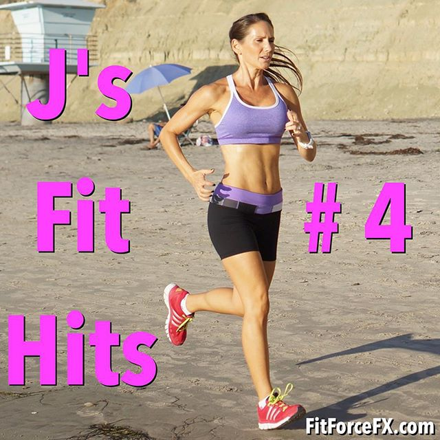 This week's J's Fit Hits is now up (link in bio). Getting (and staying) fit takes dedication, motivation, and support. I get a lot of questions about how I stay fit and motivated, so I started