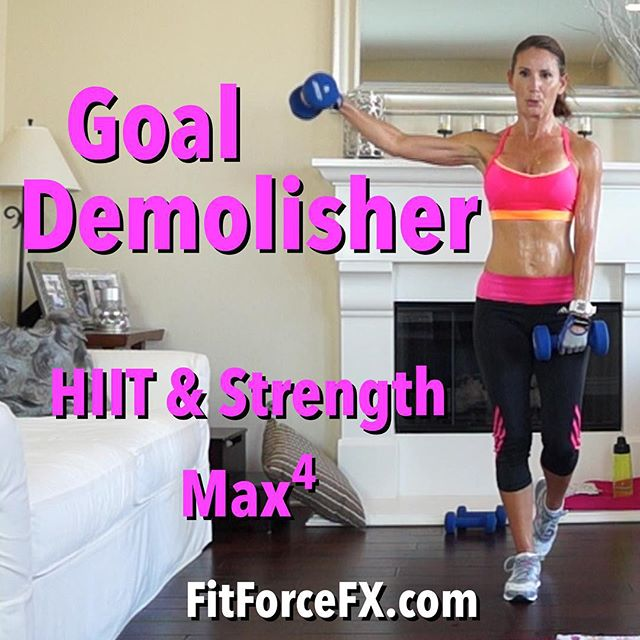 Hi guys! Happy Monday! Here is our first HIIT & Strength MAX workout of this January Challenge! Oh man, it's a butt-kicker! Let's get sweaty together! I hope you like it! Don't forget to tag me and use #TeamFitForceFX so I can see your hard work and sweaty survival pics!  Join me on YouTube (link in bio), Facebook, & Pinterest for workouts, fitness & diet tips, healthy recipes & meal-planning  Train. Nourish. Transform.  Fit Wear: 👚@marika_clothing 👖@adidaswomen 👟nikewomen  #fit #fitfam #fitmom #fitspo #fatburn #fitbody #fitness #fitnessmotivation #getfit #fitnessaddict #fitspiration #fitgirl #fitlife #igfit #fitlifestyle #gettingfit #stayfit #strongisthenewskinny #bodyafterbaby #hiit #workoutvideo #wootd #Workout #weightloss #workoutchallenge #tabata #fitforcefx