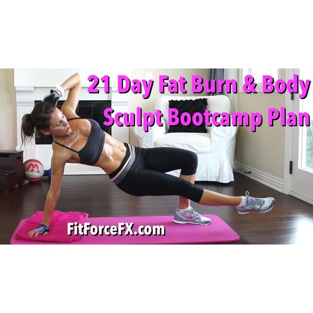 Join me for a free 21 Day Fat Burn & Body Sculpt Bootcamp. Graded for all levels and time constraints! Week 1 of body transformation starts Monday! Tune in to the FitForceFX YouTube channel tomorrow for your Week 1 schedule! Link in bio.  Train. Nourish. Transform.  Workouts, fitness & nutrition tips, healthy comfort food recipes. Join me on YouTube, Facebook, Twitter & Pinterest.  #bootcamp #fitforcefx #fitmommy #fit #fitfam #fitmom #fitspo #fitbody #fitnesslife #fitness #gettingfit #fitnessmotivation #fitgirl #getfit #fitnessjourney #fitnessaddict #fitlife #fitspiration #fitnessfreak #Workout #weightloss #bodyafterbaby #hiit #strongisthenewskinny